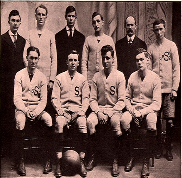 Syracuse Orangemen 1908 Basketball Team