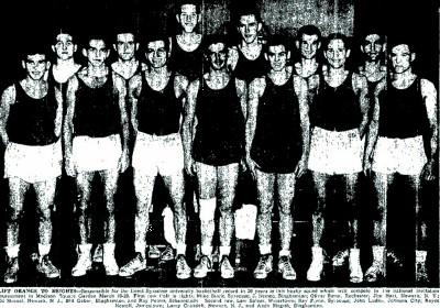 1946 Syracuse Team Photo